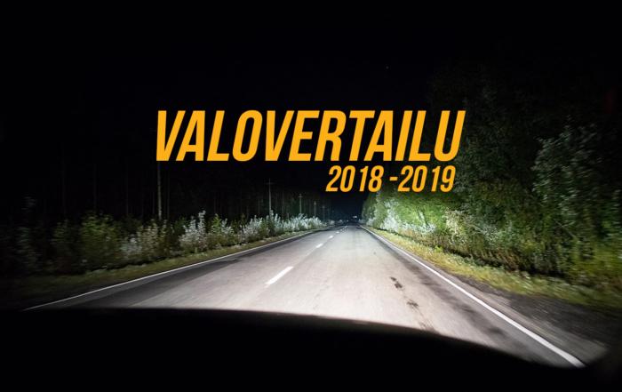 Lisävalovertailu 2018 – 2019