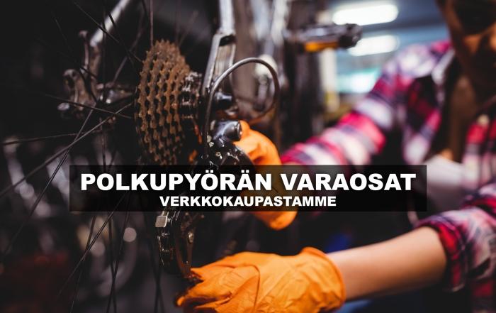 Polkupyörän varaosat ja varusteet